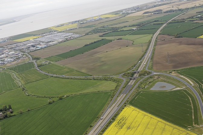 Stallingborough site from the air