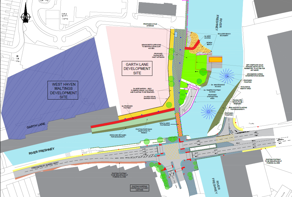 Plans for Garth Lane development